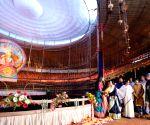 Mamata Banerjee inaugurates Durga Puja pandal