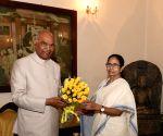 Mamata Banerjee meets President Kovind