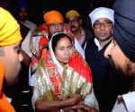Mamata Banerjee at Takht Sri Harmandir Sahib