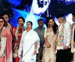 Mamata Banerjee during Mahanayak Samman Awards