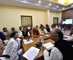 Mamata Banerjee chairs cabinet meeting