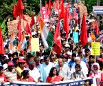CPI-M & Congress campaign for independent candidate Ambikesh Mahapatra