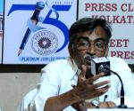 Surjya Kanta Mishra at 'Meet the Press' programme