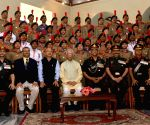 West Bengal Governor felicitates NCC Cadets at Raj Bhawan