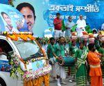 Amit Mitra, Partha Chatterjee flag off tableau