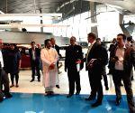 Amit Mitra, Sudip Bandyopadhyay visit BMW plant