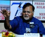 Partha Chatterjee at 'Meet the Press' programme