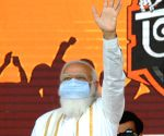 PM to address rally to mark 3 yr of BJP govt in Tripura