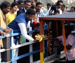 Firhad Hakim inaugurates floating market in Patuli