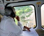 West Champaran: Nitish Kumar conducts aerial survey of flood-affected Balmikinagar