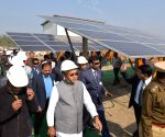 West Champaran: Nitish Kumar visits mini solar grid