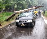 Cyclone Phethai: Rains continue in Odisha
