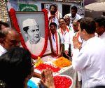 West Godavari (Andhra Pradesh): Rahul Gandhi pays tributes to Damodaram Sanjivayya