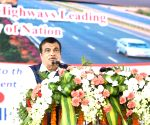 West Godavari: Nitin Gadkari lays foundation stone for National Highway projects in Andhra Pradesh