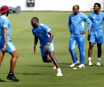 West Indies - practice session