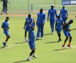 West Indies practice session