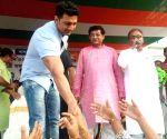 BJP's Ghosh attacks Trinamool's Dev over Bangla