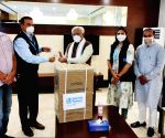 WHO gives 100 oxygen concentrators to Haryana