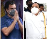 Who is he? Is he my professor: Rahul Gandhi on JP Nadda
