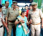 Jashodaben Modi visits Mathura