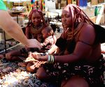 Windhoek (Namibia): Himba people living in northwestern Namibia