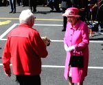 BRITAIN WINDSOR QUEEN ELIZABETH II ROYAL MAIL ANNIVERSARY