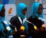 Mumbai Marathon 2018 - International Women's Elite winners