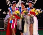 Mukul Sangma crowns the 'Winter Queen 2013' during Ahaia Winter Festival