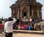 Free Photo: Photographers, guides of Sun Temple see a ray of hope