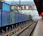 With passenger trains stopped, railways focuses on freight services