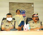 Woman Maoist leader surrenders before Telangana DGP