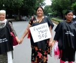 Protest rally against Women's Reservation Bill
