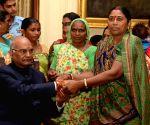 Raksha Bandhan celebrations - President Kovind