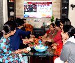 Women watch Piyush Goyal's budget speech