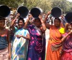 Protest over water scarcity