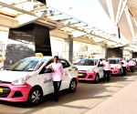 KSTDC, BIAL jointly launch women-only taxi service