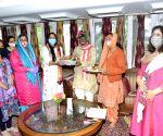 Shimla: Raksha Bandhan celebratons at Raj Bhavan