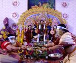 Maha Saptami celebrations at Aram Bagh Puja pandal