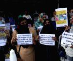 Protest against the Hathras gang rape case and Babri mosque demolition verdict