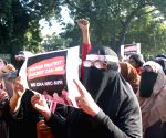 Women protest against CAA, NRC