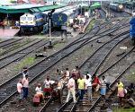 File Photo: Repair works on railway tracks