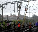 Railway services on Harbour line disrupted