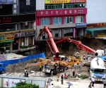 CHINA GUANGDONG DONGGUAN CONSTRUCTION SITE COLLAPSE