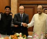 World Bank President calls on Jaitley