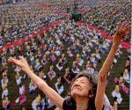 International Yoga Day - Tao Porchon-Lynch
