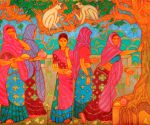 A. Ramachandran's Mumbai art retrospective from April 26