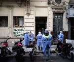 Argentina reports record-high daily Covid deaths