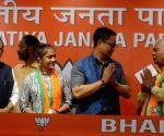Babita Phogat, Mahavir Phogat join BJP
