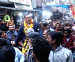 Khali campaigns for BJP at Majnu Ka Tila ahead of Delhi Polls 2020