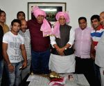 Wrestlers meet Rajnath Singh